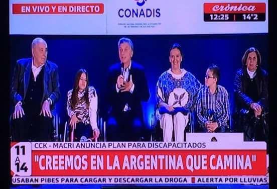 El País Digital Furcio De Macri Con Discapacitados